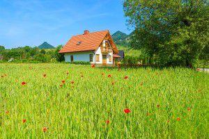 vidiecky dom vteréne