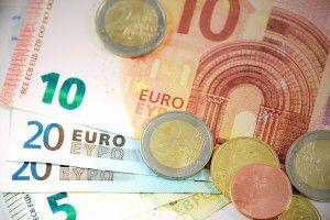 meny euro pri stole
