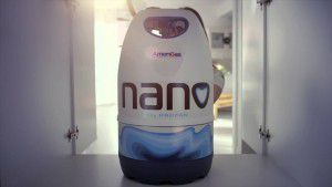 Nano cylinders
